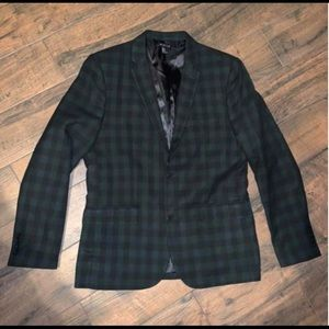 21 men plaid blazer. Size Large.